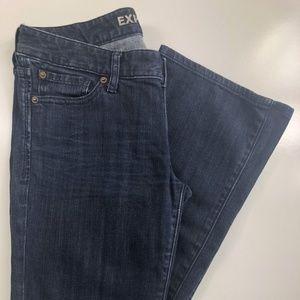 EXPRESS Stella Boot Dark Wash Low Rise Jeans FC29